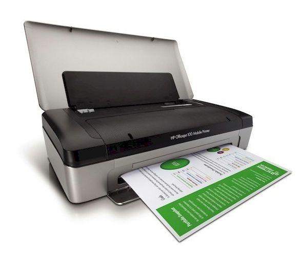 imprimantes scanners imprimante portable hp officejet 100. Black Bedroom Furniture Sets. Home Design Ideas