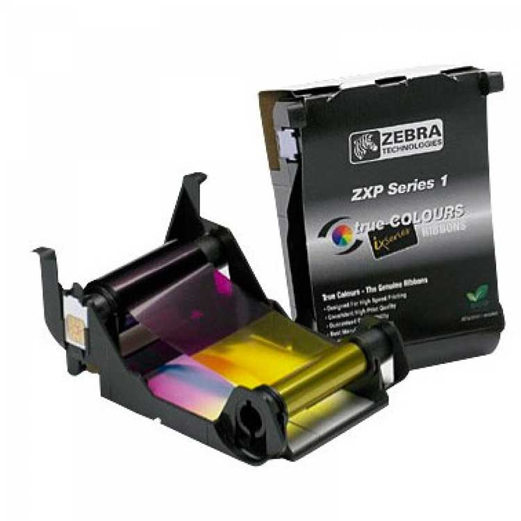 ZEBRA RIBBON COLOR YMCKO PARA ZXP SERIES 1