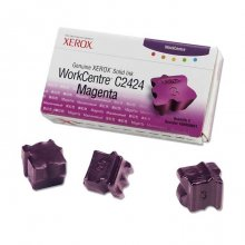 TINTA SOLIDA MAGENTA 108R00661 XEROX WORKCENTRE C2424 PACK3