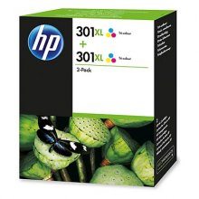 CARTUCHO DE TINTA HP 301XL HP D8J46AE COLOR PACK 2 UD
