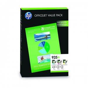 multipack tintas hp 935xl 3 colores hojas f6u78ae f6u78ae mastoner. Black Bedroom Furniture Sets. Home Design Ideas