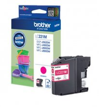 TINTA BROTHER LC221M MAGENTA