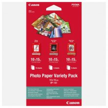 PACK PAPEL FOTOGRAFICO CANON VARIETY PACK VP-101 100 x 150 mm